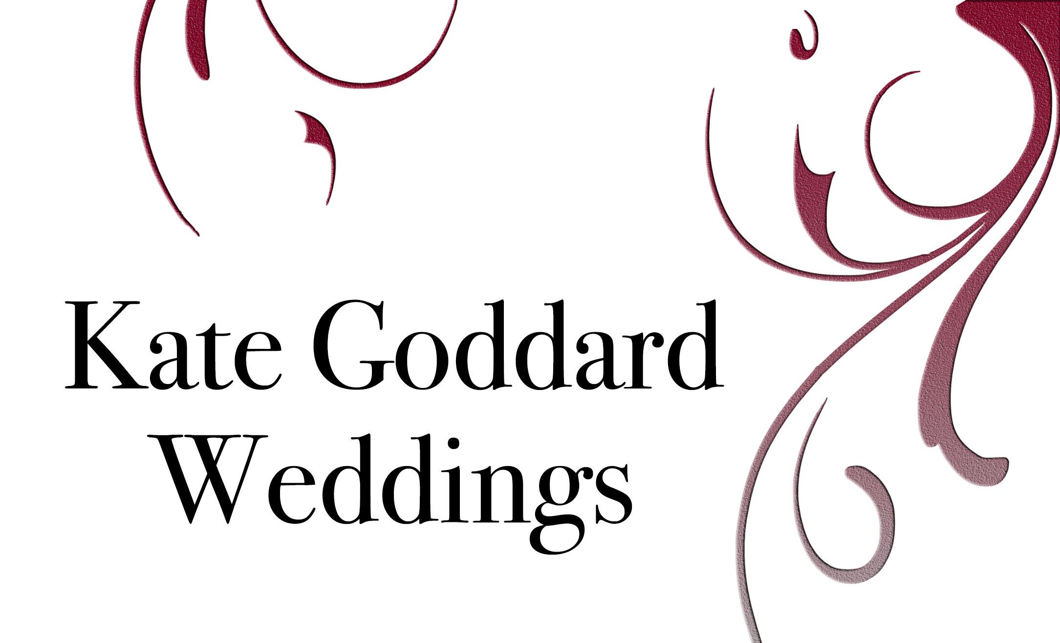 Kate Goddard Weddings